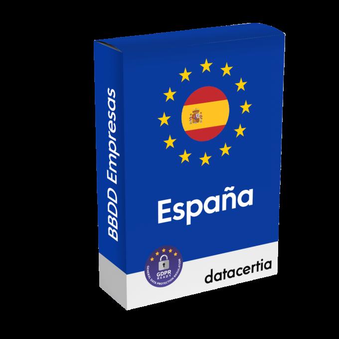 Base de datos de empresas de España