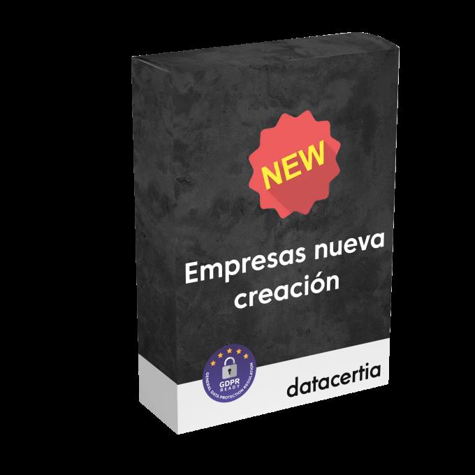 Fichero de Empresas de Nueva Creación