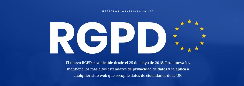 Listados de datos públicos legales RGPD
