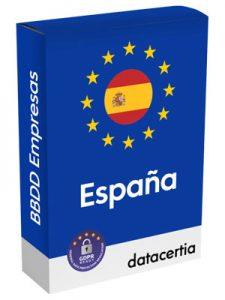 Listados actualizados de empresas de España