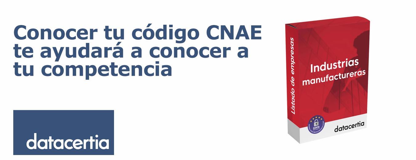 Descubre tu competencia a través del código CNAE